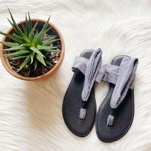 Sanuk Yoga Sling Striped Sandals